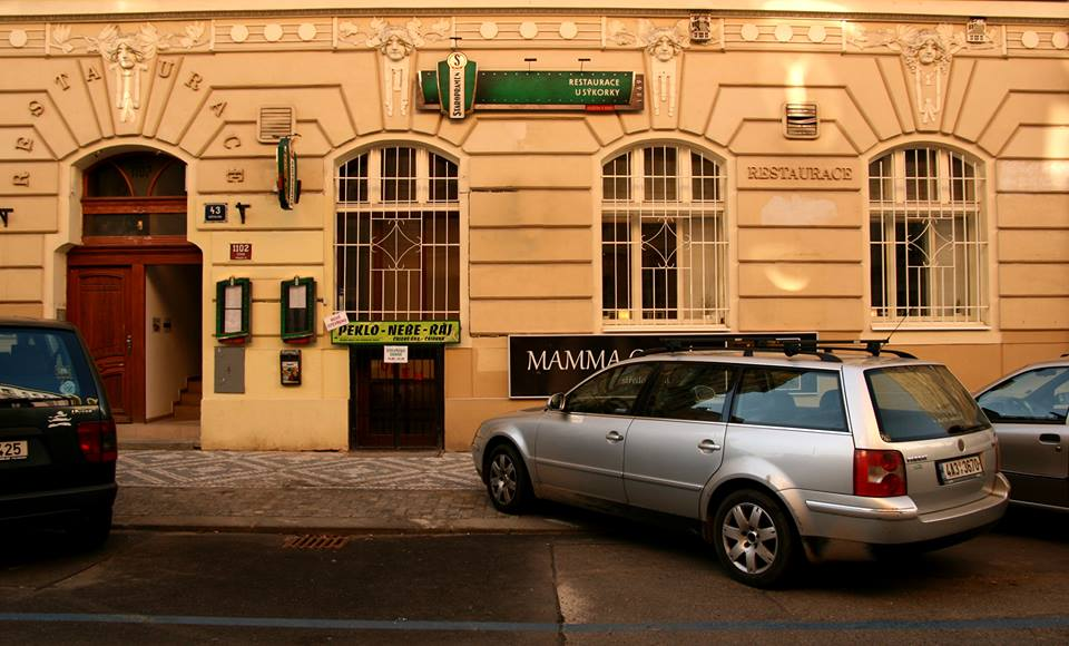 nekuřácká restaurace Praha 3